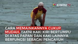 asal usul permainan skilot berselancar di atas lumpur laut
