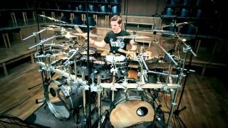 Nile - The Inevitable Degradation of Flesh  Drum Cover by David Diepold