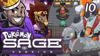 "Pokémon Sage Let's Play w/ TheKingNappy! - Ep 10 ""THE TOUGHEST GYM LEADER EVER"""