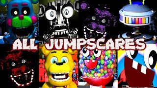Rejected Custom Night ALL JUMPSCARES