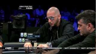 Wpt Seminole Hard Rock Poker Showdown: Tommy Vedes Vs. Kyle Bowker