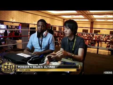 CEO 2015 - Persona 4 Ultimax - Top 8 - NiceBurst Souji (Teddie) vs TS LordKnight (Margaret)