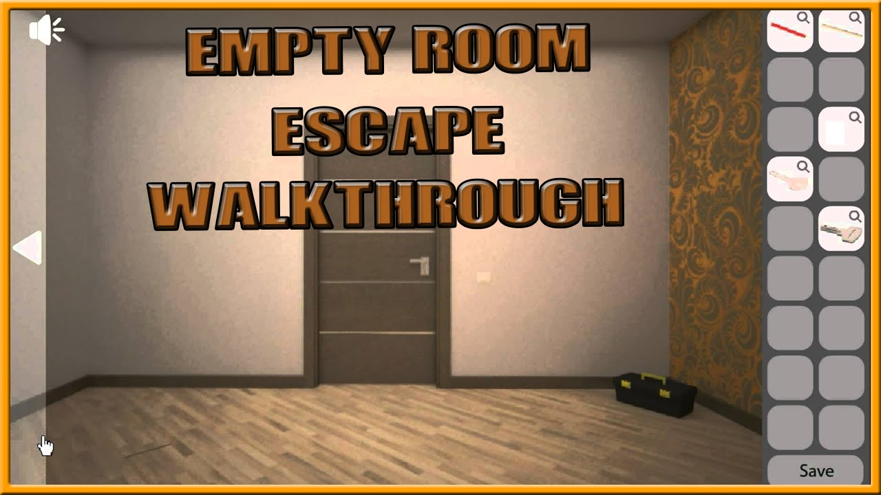 Empty Room Escape Walkthrough Youtube