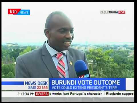 Vote tallying underway in Burundi in a referendum that could extend President's term