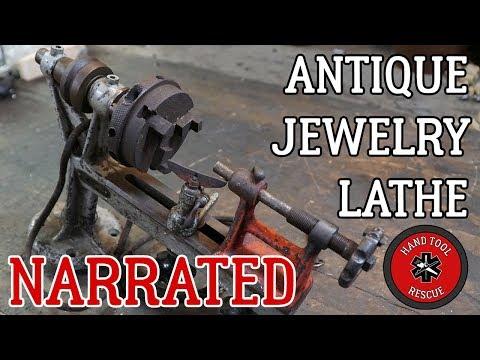 Narrated: Antique Jewelry Lathe [Restoration]