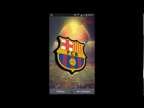 FC Barcelona Live Wallpaper - YouTube