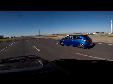 [RUN] Clio 4 RS1 1.6 200 vs Corsa E OPC...