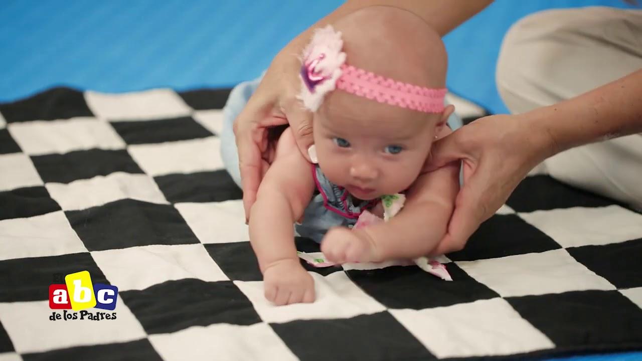 Tips para que tu bebé pase boca abajo