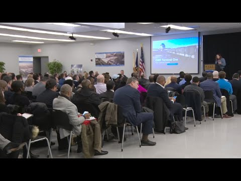 Women and minority-owned businesses attend Terminal One outreach forum