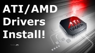 Install ATI Drivers - Ubuntu 10.10 & 12.04