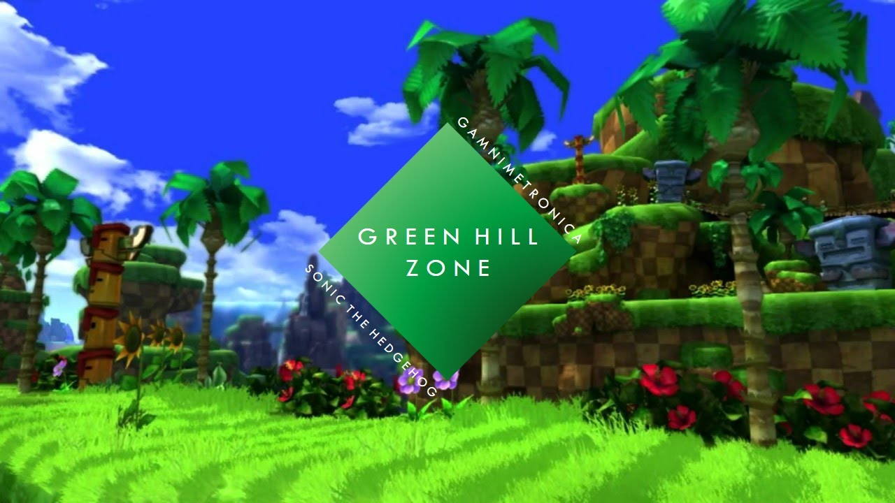 Sonic The Hedgehog Green Hill Zone Sare Remix Youtube