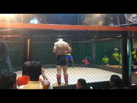 Rajeev's 1st bout- Karnataka sport MMA championship 2018