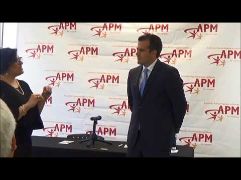 Puerto Rico Gov. Roselló at APM Rising Stars ECE