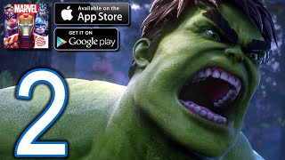 Marvel Super War iOS Gameplay   Part 2   Updated HULK