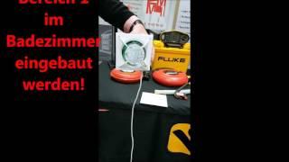 Badlufter Kuchenlufter Kleinraumlufter M 1 Von Helios Ventilatoren M1 100 M1 120 M1 150 Youtube