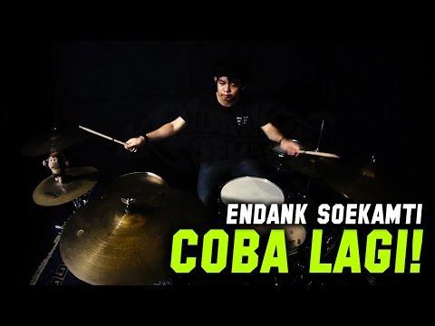 ENDANK SOEKAMTI - COBA LAGI (DRUM COVER)