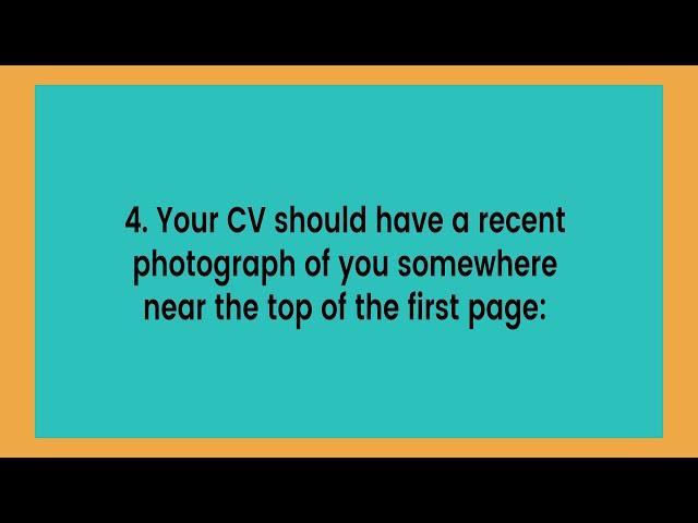 CV Tips for the ESL Teacher