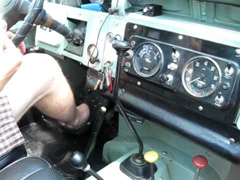 1969 Land    Rover       Series       IIa    Starting  Driving  YouTube