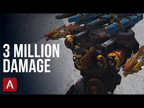 CRAZY 3 MILLION DAMAGE Beacon Rush Game | War Robots Gameplay