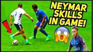 Neymar Skills & Goals In Game by SkillTwins Get