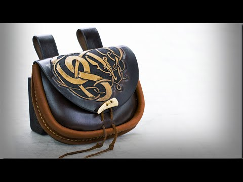 How To Make A Viking Belt Pouch / Purse