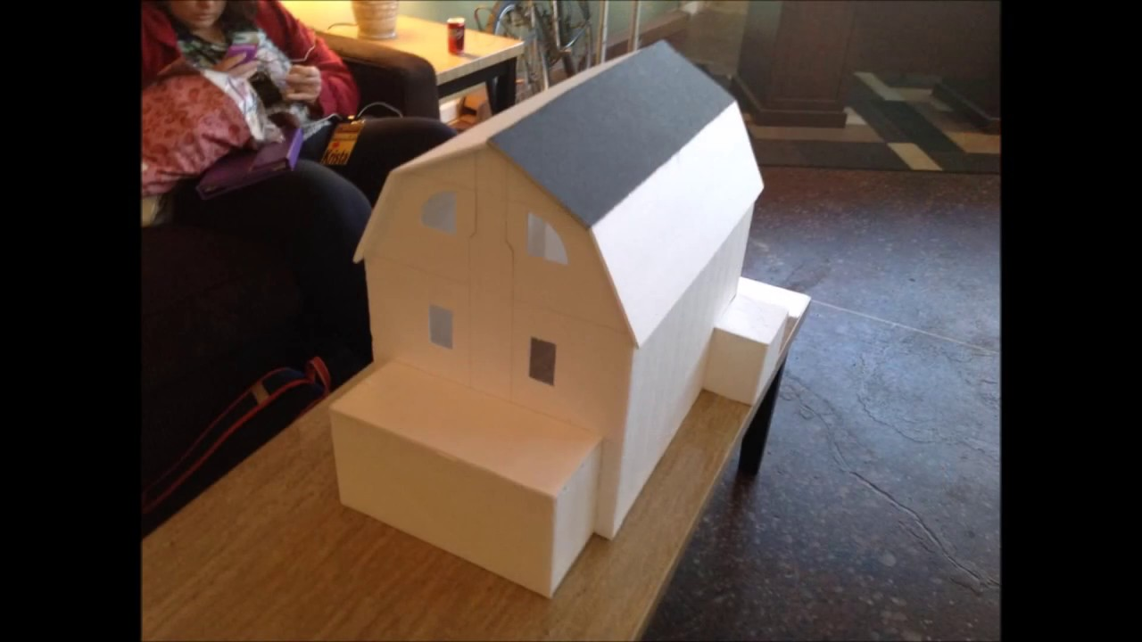 Amityville Dollhouse Part Xi 1st Model Ive Ever Build Before The 2nd A Year Later