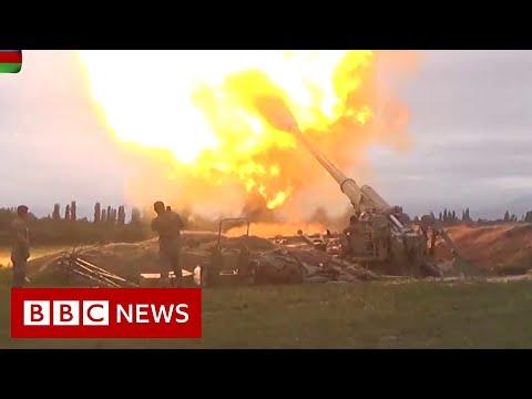 Armenia and Azerbaijan fight over disputed Nagorno-Karabakh region - BBC News