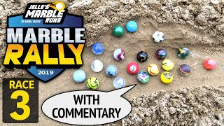 Sand Marble Rally 2019 Race 3 - Jelle's Marble Runs
