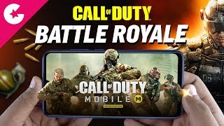 CALL OF DUTY Battle Royale Mode - Better Than PUBG Mobile??