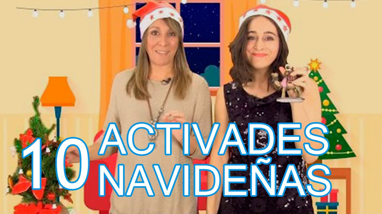 10 Actividades Para Hacer Con Ninos En Navidad Youtube