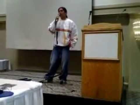Daniel Sakchekapo talking about historical Impacts of Anishnawbe People pt 1