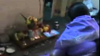 vuclip New Laxmi puja video clip with desi aunty sulekha in our home laxmi pachali nice video clip