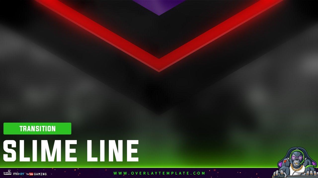 Stinger One – transition screen « Overlaytemplate