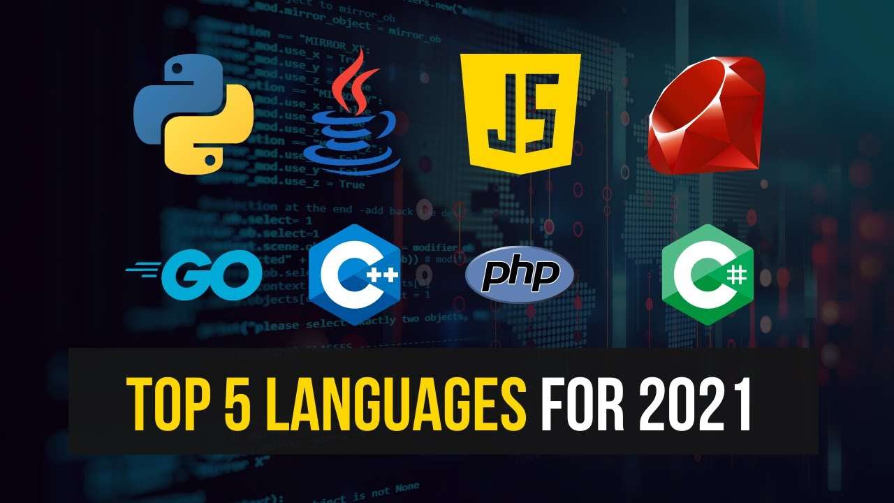Top 5 Programming Languages For 2021