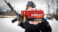 Fort Scott 5.56 Brush Hog | Tumbling AR15 Bullet?!