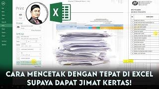 Download BARU TAHU CARA MENCETAK DENGAN TEPAT DI MICROSOT #EXCEL! SEBELUM NI ASYIK SILAP & BUANG KERTAS JE..