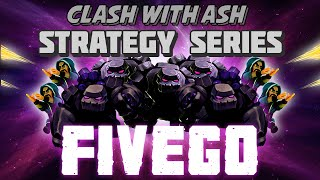 Clash of Clans - 5 Golem Attack - Guaranteed 2 Star Strategy! (GOWIPE)