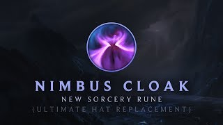 Nimbus cloak - New Sorcery Rune | League of Legends