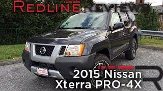 2015 Nissan Xterra PRO-4X Review, Walkaround, Exhaust, & Test Drive