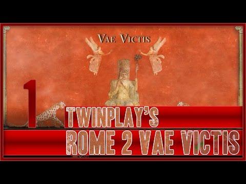 TwinPlays Total War Rome 2 - Vae Victis Mod Turdetani  #01