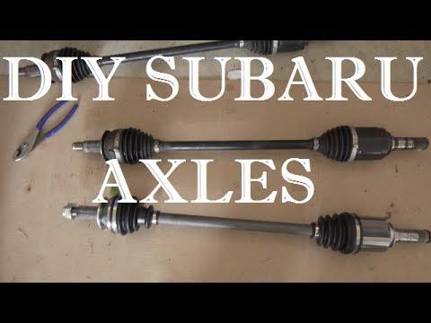 DIY Subaru Axles | How To | 2013 Subaru Crosstrek