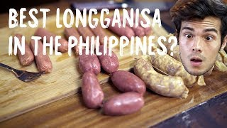 Who makes the Best Longganisa in the Philippines ?
