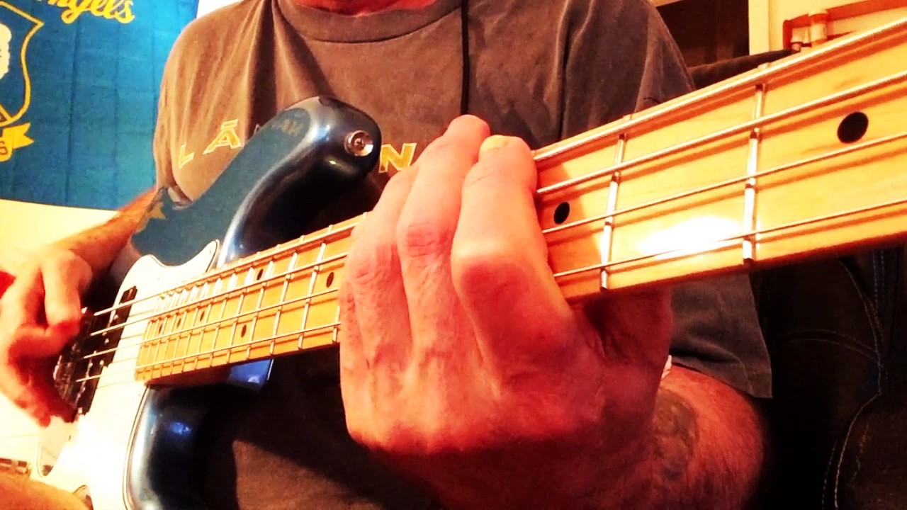 """EVERY MILE A MEMORY"" By Dierks Bentley BASS GUITAR COVER"