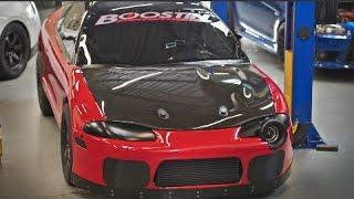 1300HP Червоний Демон 200 миль в годину 1/4 милі - 4 циліндра, AWD і керівництво Транс рекорд