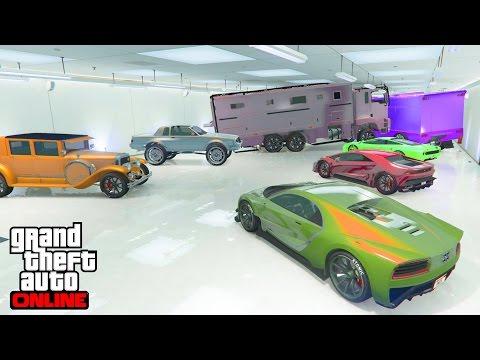 NOS GARAGES MODDED - GTA 5 ONLINE