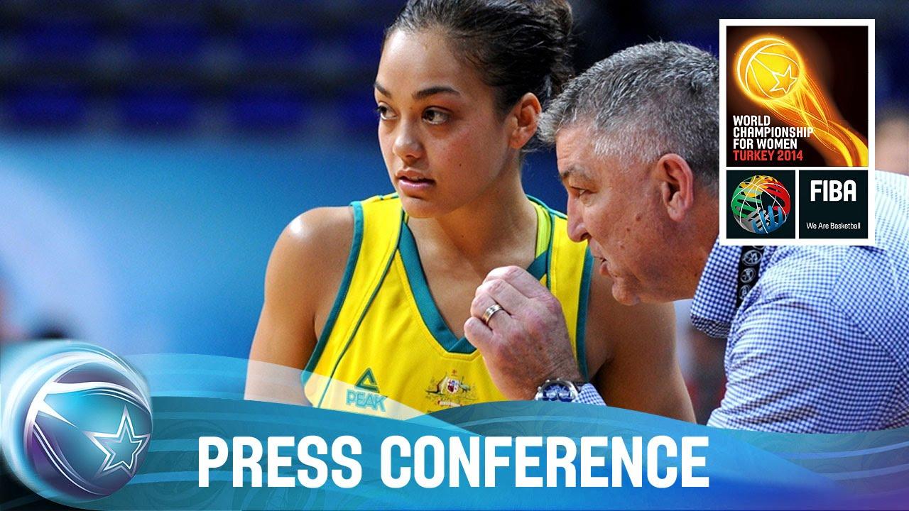 Australia v Canada - Post game press conference (Part II)