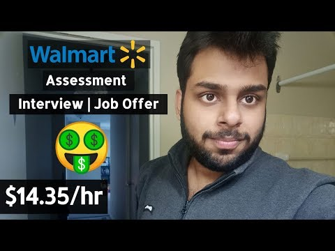 Part Time Job | Walmart Canada | Hindi (1 Hour = $14.35)