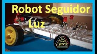 ✅ Robot Seguidor de Luz, fácil y rápido de hacer