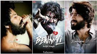 Vijay Devarakonda WhatsApp Status | Kabir Singh | Bekhayali Status | Sad Song Status | Fullscreen