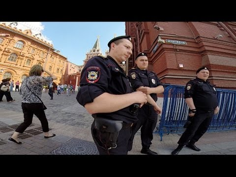 Looking for Moscow's Tourist Policemen